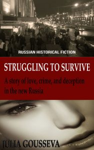 Struggling to Survive, historical fiction novel set in Russia