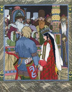 Vasilisa and Ivan Tsarevich, Russian fairy tales characters